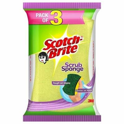 Scotch Brite Scrub Sponge 3N