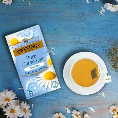 Twinings Pure Camomile Delicate & Calming 25tb