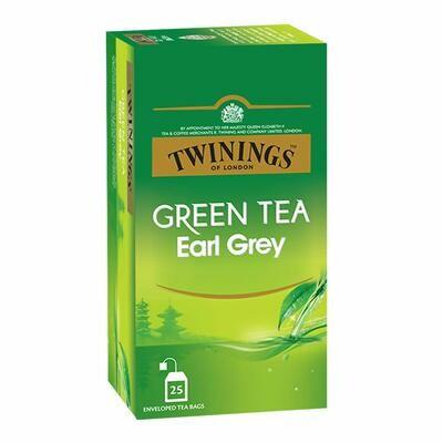 Twinings Green Tea Earl Grey 25TB