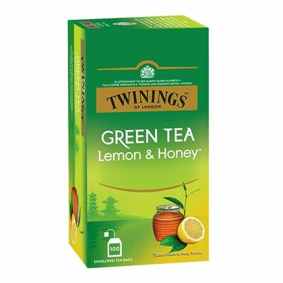 Twinings Green Tea Lemon & Honey100TB