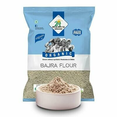 Organic Bajra Flour 24 Mantra 500g