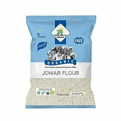 Organic Jowar Flour 24 Mantra 500g