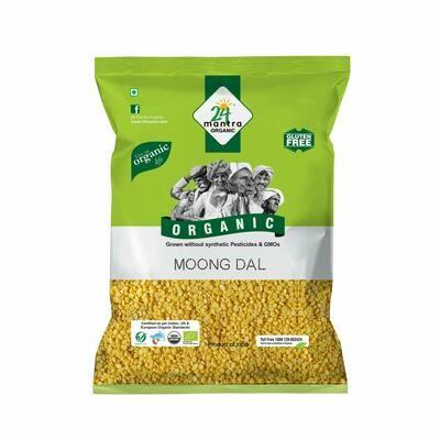 Organic Moong Dal 24 Mantra 500g
