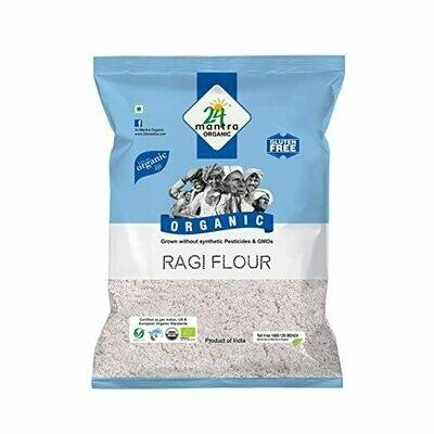 Organic Ragi Flour 24 Mantra 500g