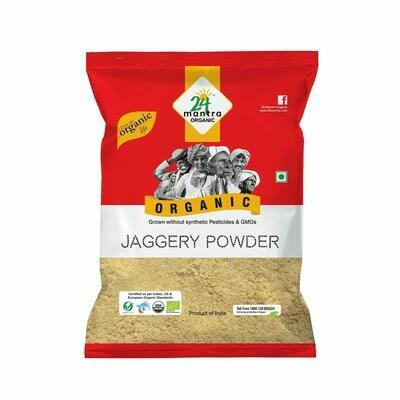 Organic Jaggery Powder 24 Mantra 500g