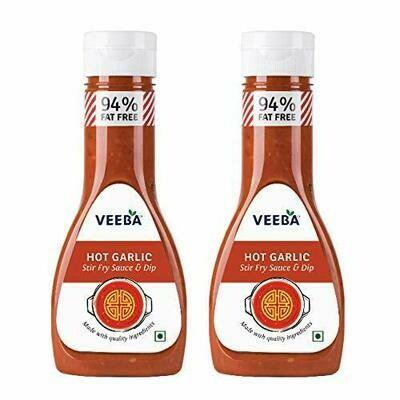 Veeba Hot Garlic Stir Fry Sauce & Dip 330g