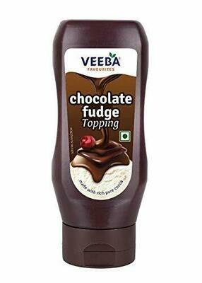 Veeba Chocolate Fudge Topping 380g