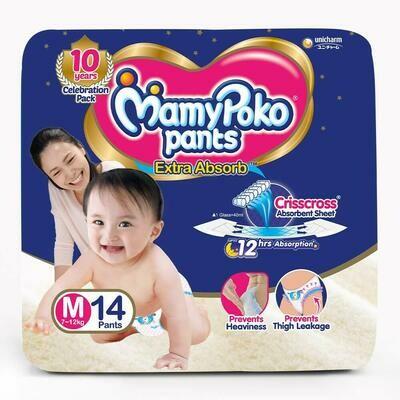 Mamy Poko Pants Extra Absorb M Pants-14