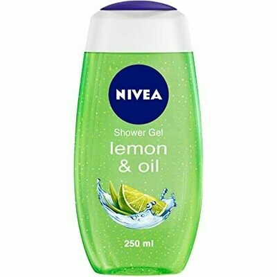 Nivea Shower Gel Lemon & Oil 250ml