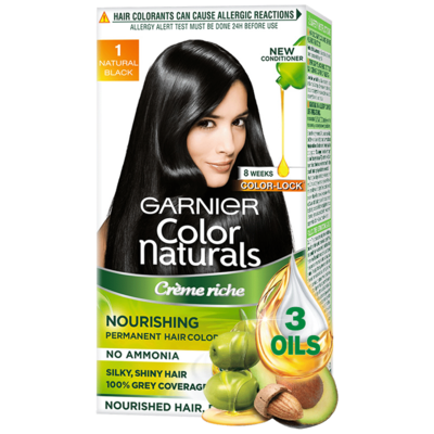 Garnier Color Naturals Black 35ml+30gm