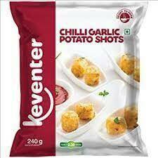 Keventer Chilli Garlic Potato Shots240gm