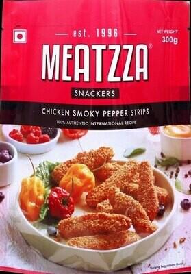 Meatzza Chicken Smoky Pepper Strips 300gm