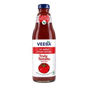 Veeba Truly Tomato Ketchup 500gm