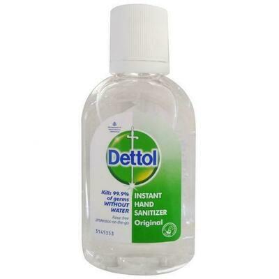 Dettol Instant Hand Sanitizer 60ml