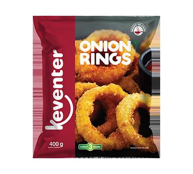 Keventer Onion Rings 400gm