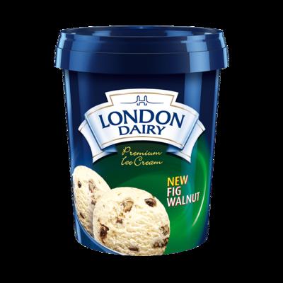 London Dairy Fig Walnut 500ml