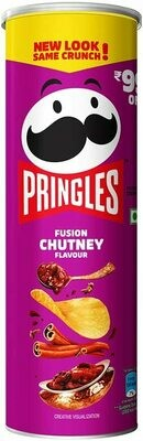 Pringles Fusion Chutney Flavor 107gm