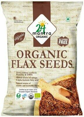 Organic Flax Seeds 24 Mantra 200gm