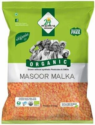 Organic Masoor Malka 24 Mantra 500gm