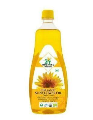 Organic Sunflower Oil 24 Mantra 1ltr.