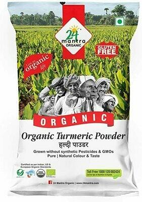 Organic Turmeric Powder 24 Mantra 100gm
