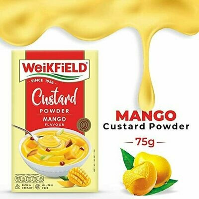 WeikField Custard Powder Mango Flavour 75gm