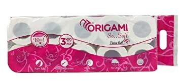 Origami Tissue Roll 3Ply 10in1 (160N*10=1600N)