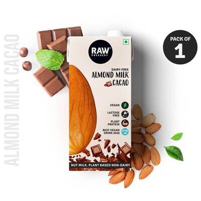 Raw Pressery Almond Mill Cacao 1ltr.