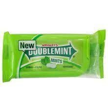 Wrigley Doublemint Spearmint 3.8gm