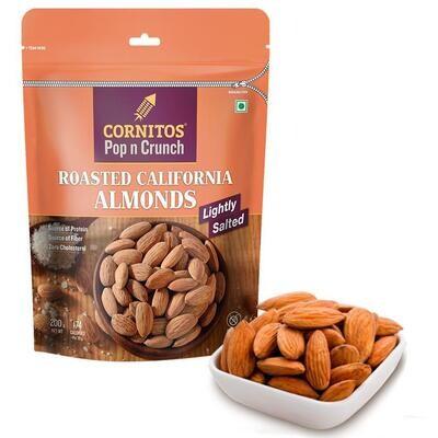 Cornitos Roasted Almonds 180gm