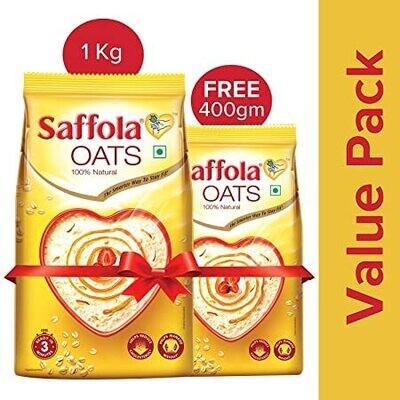 Saffola  Oats 1kg + 400gm Free