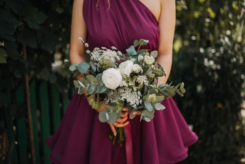 Green & White suculent Bouquet