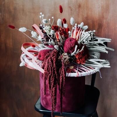 Be my Valentine Velvet Gift Box