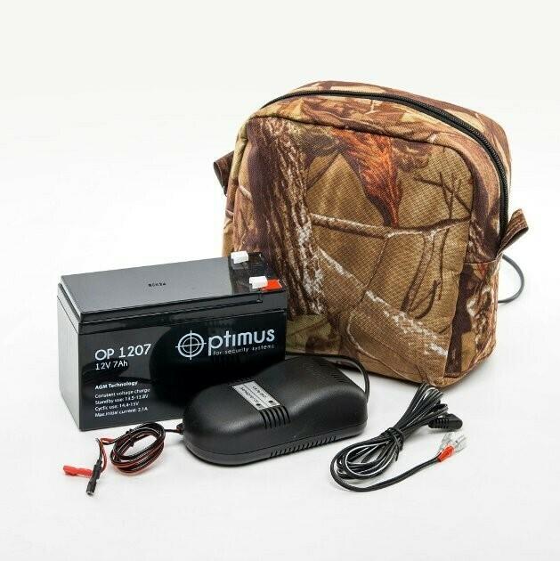 Комплект питания для GSM–камеры KUBIK