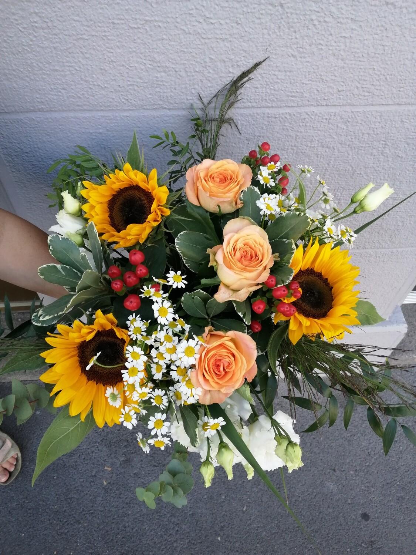Bouquet de saison ton coloré