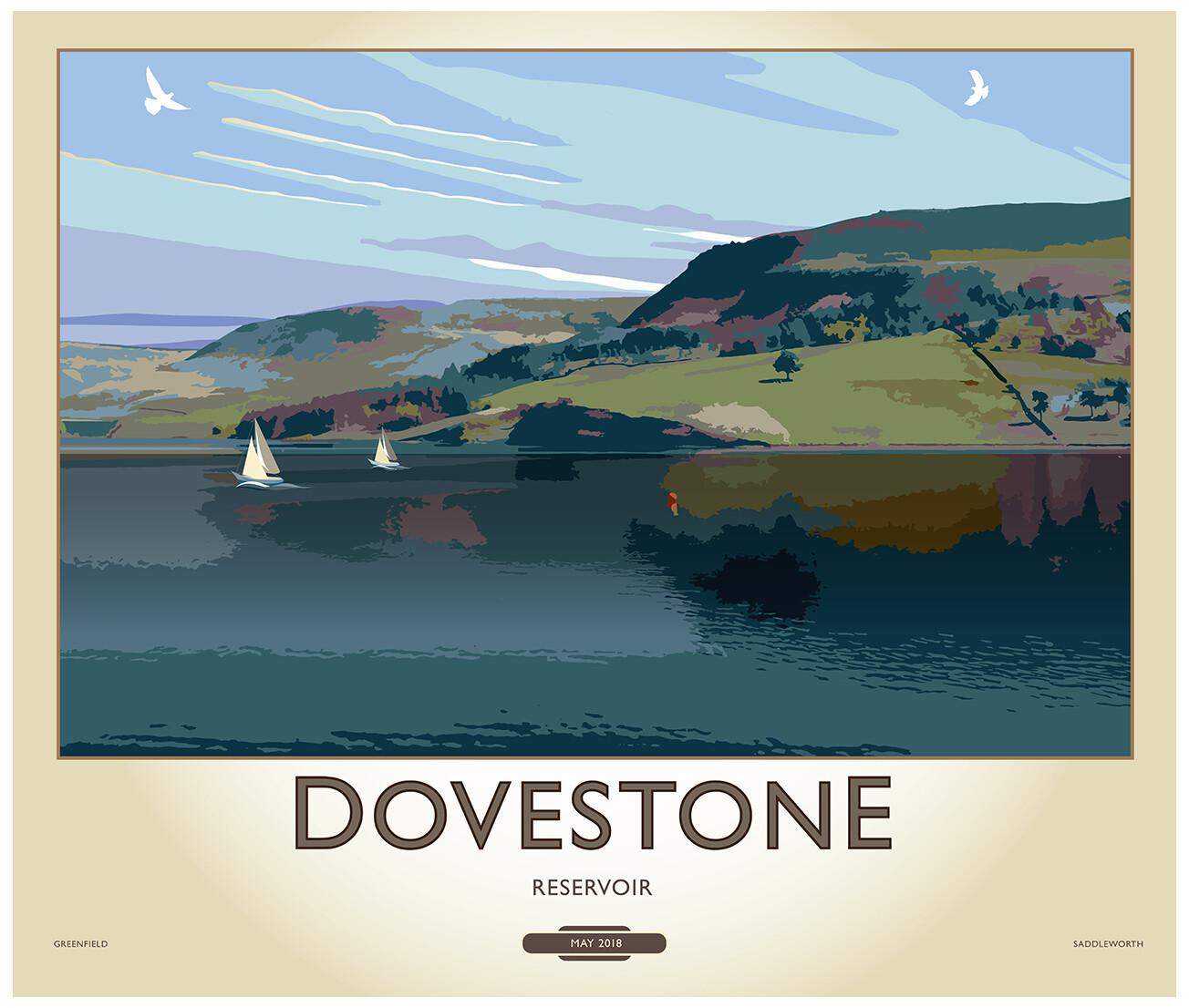 Fine Art Print - Dovestone Reservoir