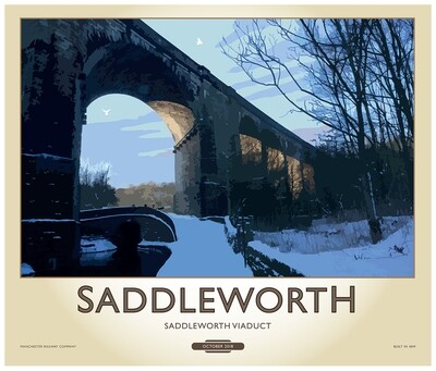 Fine Art Print - Saddleworth