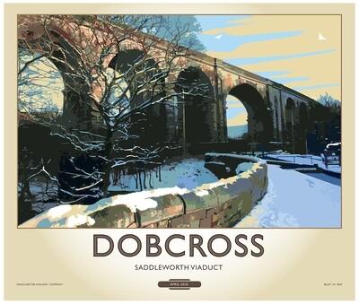 Fine Art Print Saddleworth - Dobcross