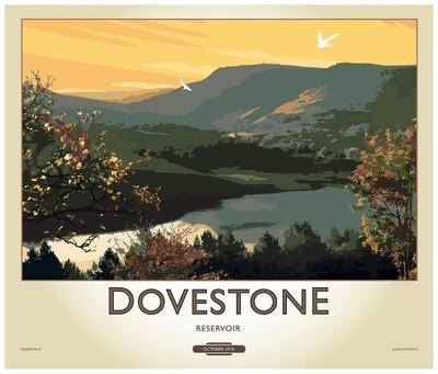 Fine Art Print Saddleworth - Dovestone Reservoir