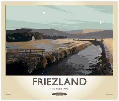 Fine Art Print Saddleworth - Friezland