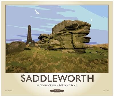 Fine Art Print Saddleworth - 'Pots and Pans'
