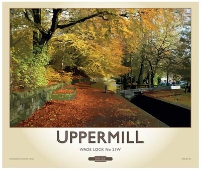 Fine Art Print Saddleworth - Uppermill