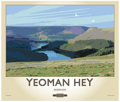 Fine Art Print - Yeoman Hey Reservoir