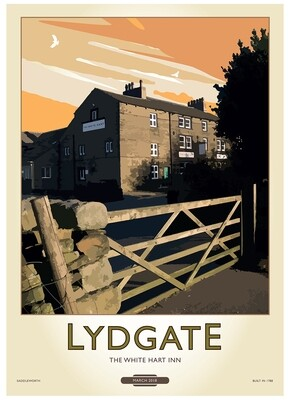 Fine Art Print Saddleworth - Lydgate