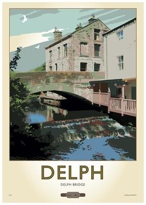 Fine Art Print Saddleworth - Delph