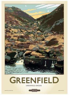 Fine Art Print Saddleworth - Greenfield
