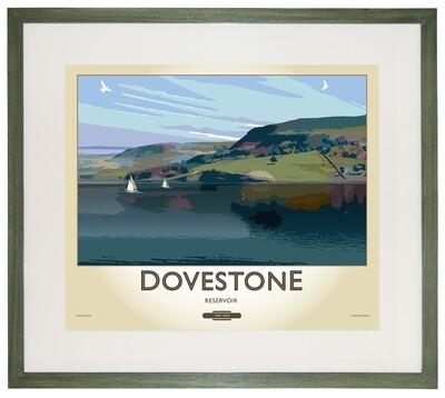 Framed Fine Art Print - Dovestone Reservoir