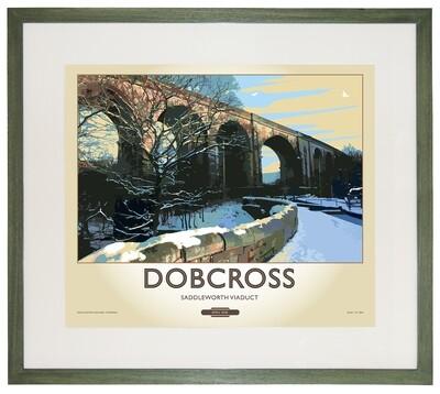 Framed Fine Art Print Saddleworth - Dobcross