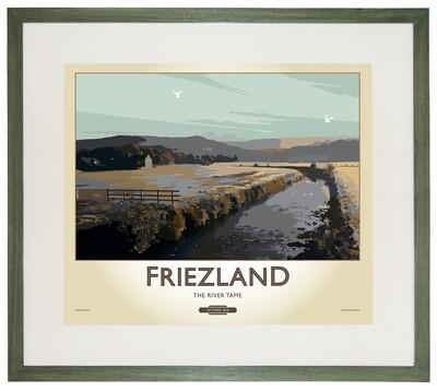Framed Fine Art Print Saddleworth - Friezland