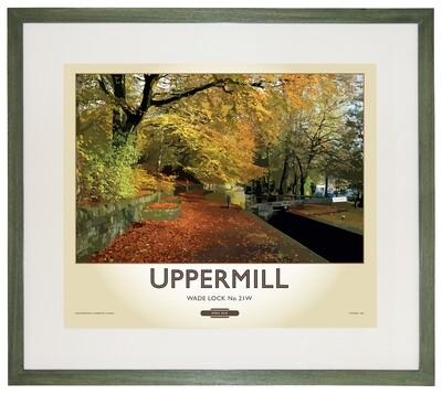 Framed Fine Art Print Saddleworth - Saddleworth - Uppermill